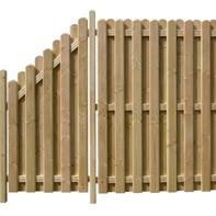 Holz Sichtschutzzaun